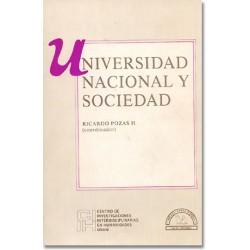 Universidad Nacional y sociedad