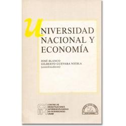 Universidad Nacional y economía