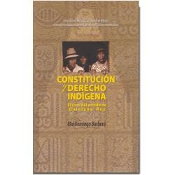 Constitución y Derecho Indígena. El caso del estado de Quintana Roo