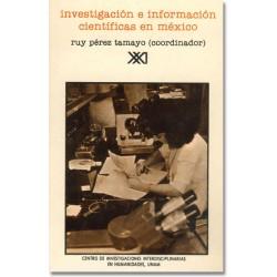 Investigación e información científicas en México